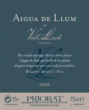 Aigua de llum de Vall Llach 2009
