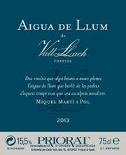 Aigua de llum de Vall Llach 2013
