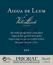 Aigua de llum de Vall Llach 2014