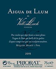 Aigua de llum de Vall Llach 2015