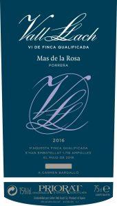 Vall Llach Mas de la Rosa 2016